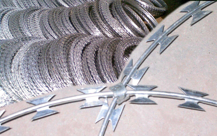 Razor Wire Barbed Tape Obstacles
