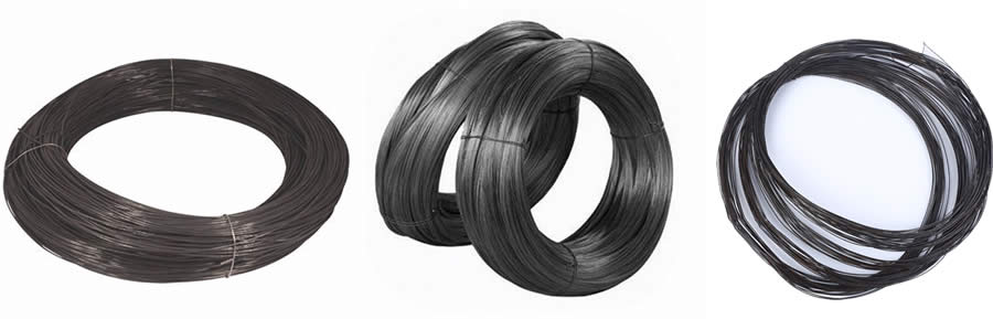 1.2mm Wire Diameter Black Wire